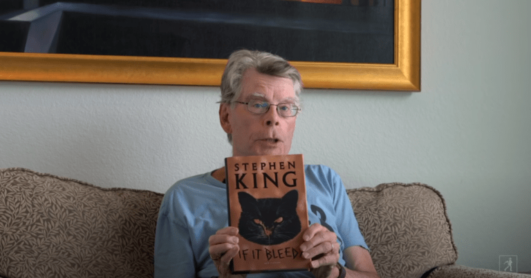 Watch Stephen King Read From His New Book, 'If It Bleeds'.