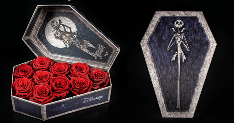 You Can Now Buy 'Nightmare Before Christmas' Rose Bouquets