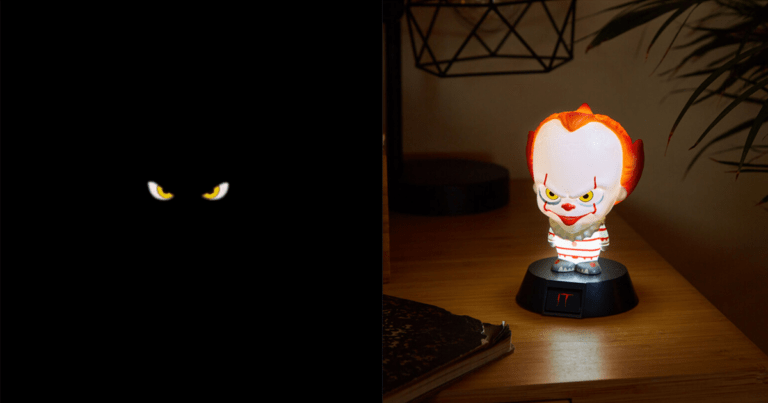 Firebox Releases Terrifyingly Cute Pennywise Lamp.