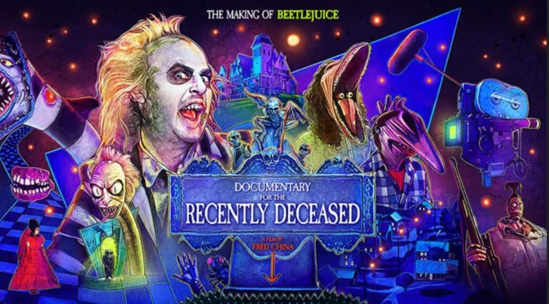 New Trailer & Teaser For Documentary Reveals The Making Of Beetlejuice.