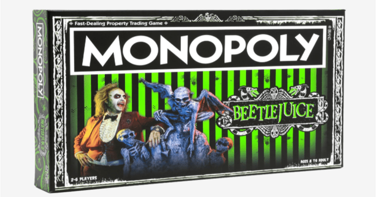'Beetlejuice' Monopoly Exists And It Looks Great