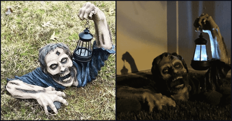 Check Out These Zombie Lights Perfect For Your Undead Garden