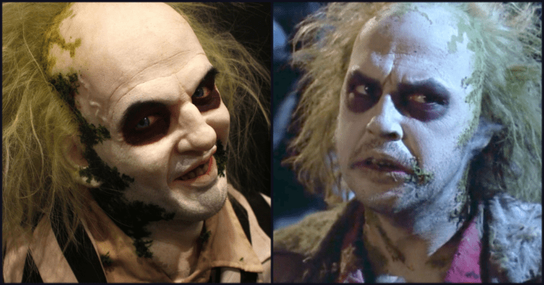 Check Out This Life-Sized 'Beetlejuice' Sculpture Perfect For Halloween