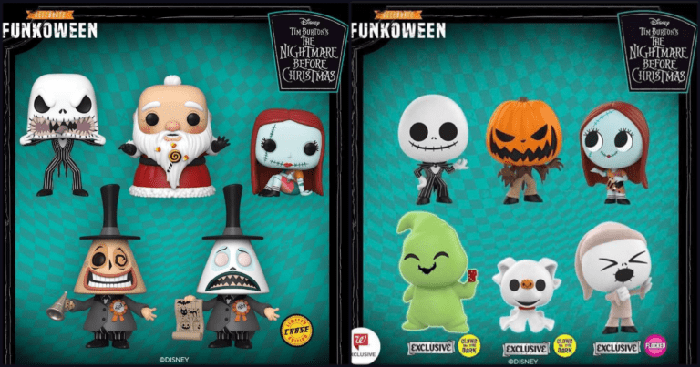 Disney and Funko Launch The Nightmare Before Christmas Pop Figure Collection For Funkoween