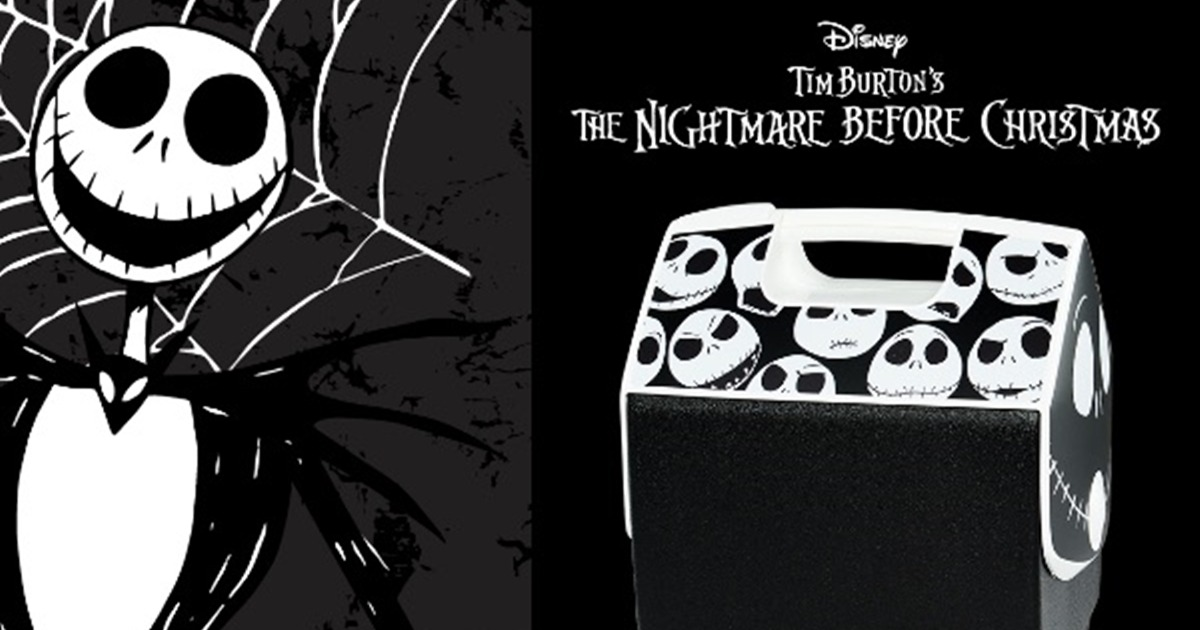 Pal Nightmare Before Christmas Jack 7 Qt Cooler