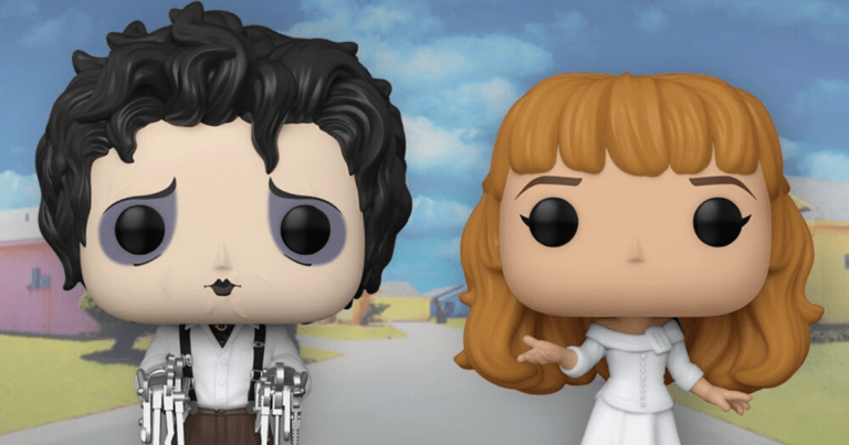'Edward Scissorhands' Funko Pops are Here to Expand Your Tim Burton Collection