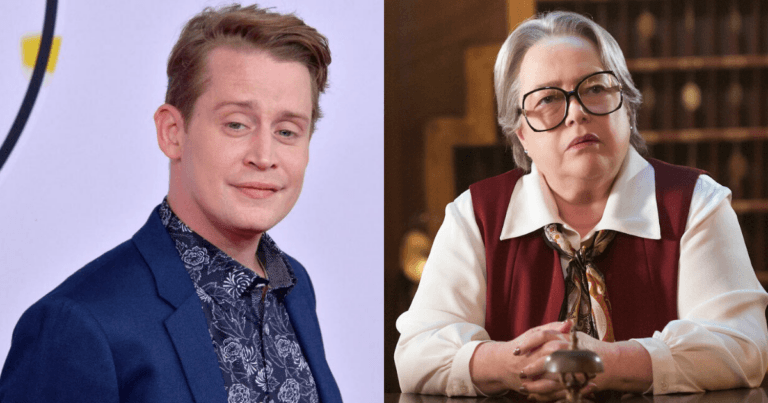 """Macauley Culkin will have a """"crazy s** scene"""" with Kathy Bates in American Horror Story Season 10"""