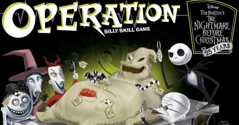 """You can now own these """"The Nightmare Before Christmas"""" board games for your evening plays"""
