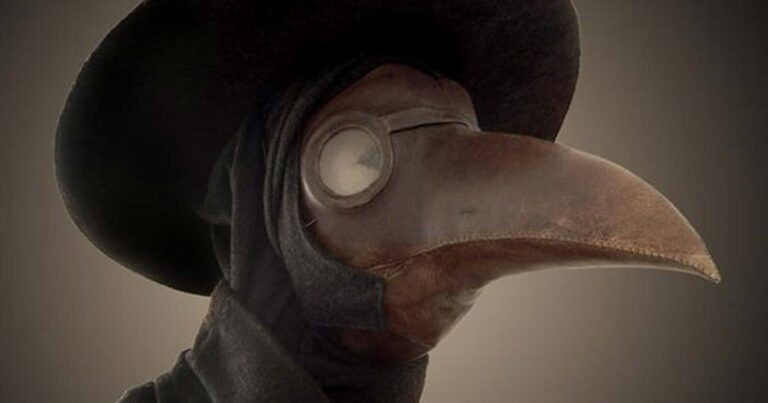Police Search Continues For Man Dressed As Plague Doctor