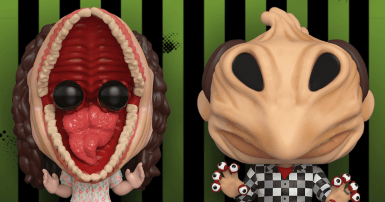 Funko Launches New Beetlejuice Pops!