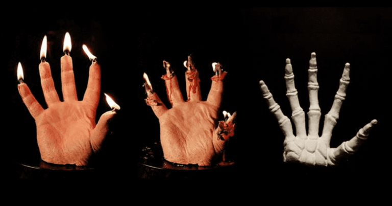 You Need These Bleeding Hand Candles To Spice Up Your House