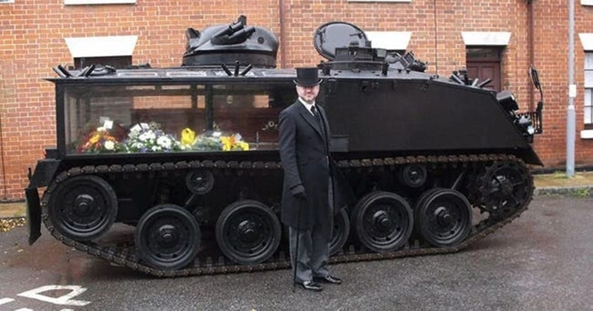 Cool Funeral Hearse