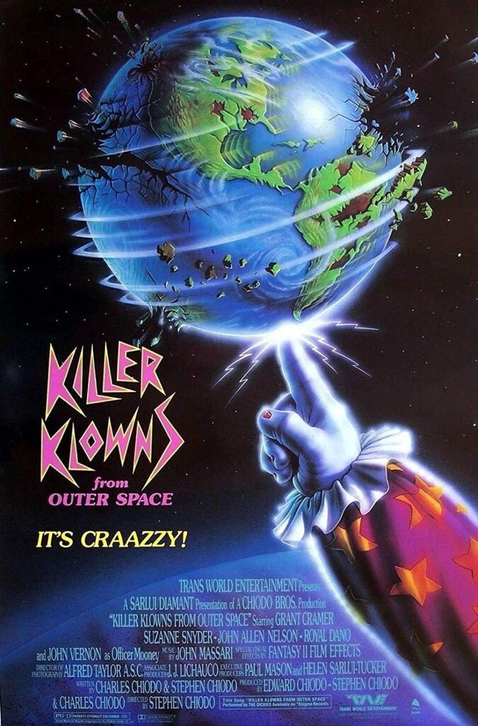 Killer Klowns From Outer Space Watch Party