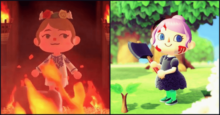 Horror-Themed Design Ideas For Animal Crossing: New Horizons Players