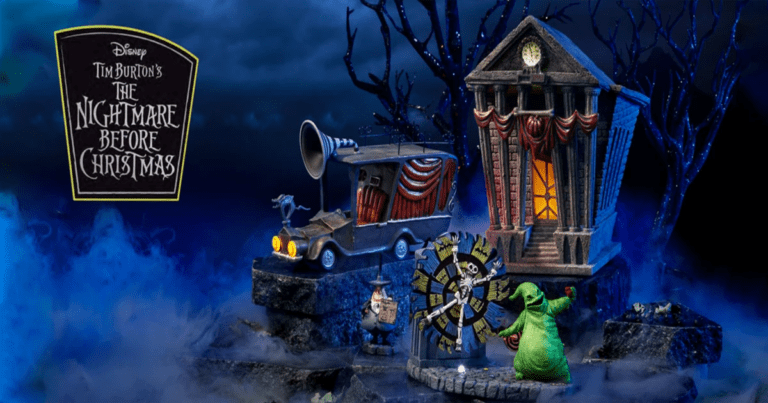 You Can Create Your Own Miniature Nightmare Before Christmas Village