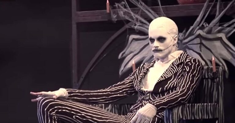 Watch Jack Skellington Come To Life In A Nightmare Before Christmas Performance