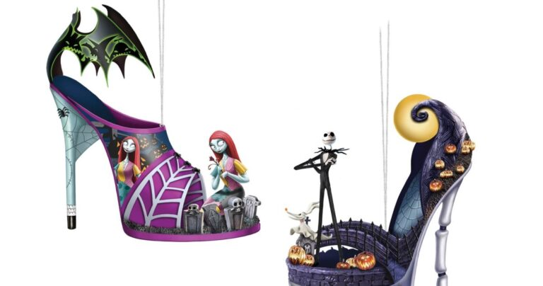 These Hand-Made Nightmare Before Christmas Ornaments Look Amazing