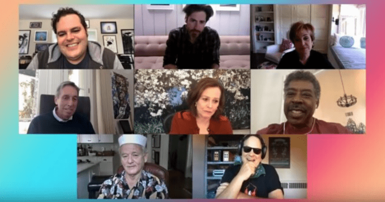 WATCH: Ghostbusters cast and crew reunited thanks to Josh Gad's YouTube show