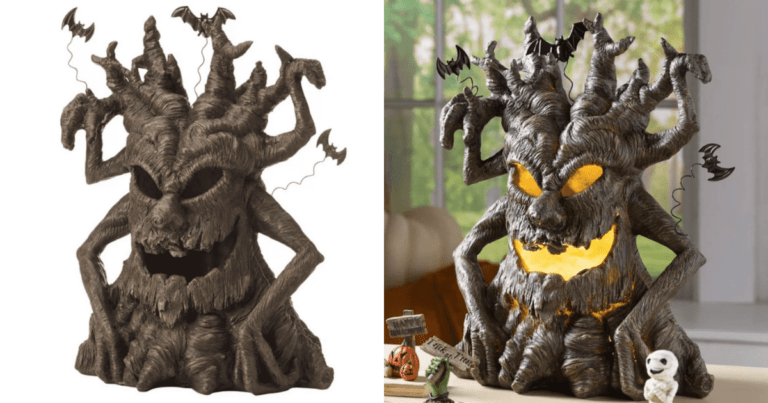 This Spooky Tree from Hearthsong is perfect for your Halloween décor this year!