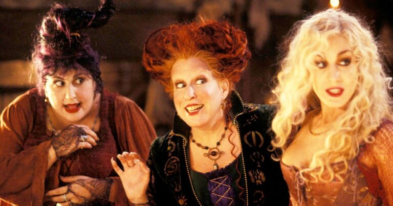 Sarah Jessica Parker Says That All Of The Sanderson Sisters Are Ready To Return For A Sequel.