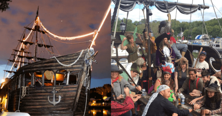 You can now rent an entire pirate ship on Airbnb for your future parties or holidays