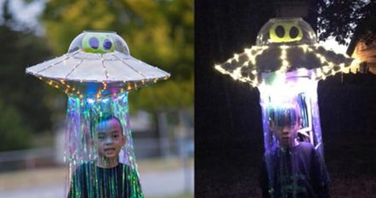 This Alien Abduction Costume Is Perfect For Halloween