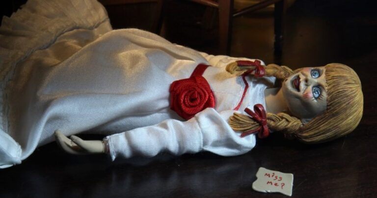 NECA's Annabelle Comes With Interchangeable Expressions