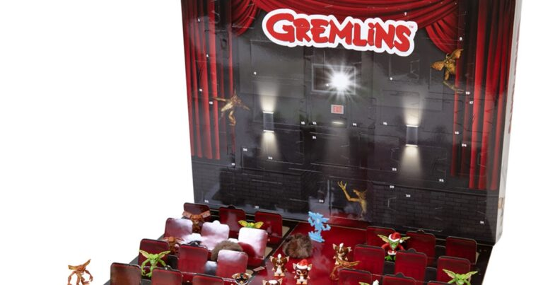 Shipping Soon: Gremlins Are Getting A Themed Advent Calendar Which Includes 31 Mini Toys
