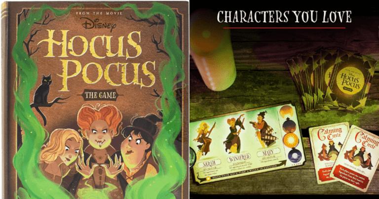 New Hocus Pocus Board Game Announced