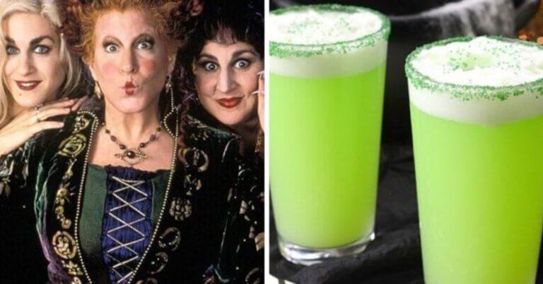 This Hocus Pocus Witches Brew Tastes Amazing