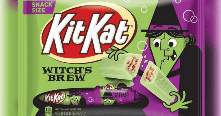 Kit Kat Is Releasing A Halloween-Themed Witch's Brew Flavor