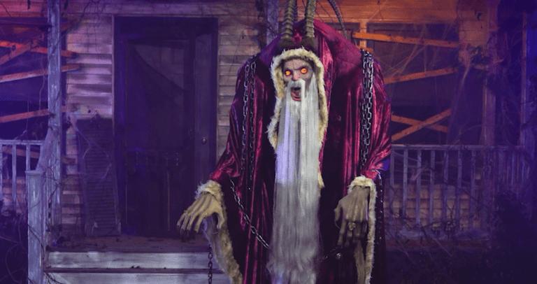 Spirit Halloween Creates 7-Foot Tall Krampus Animatronic