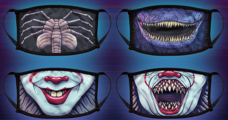 New Movie Monsters Face Masks Include Hannibal, Pennywise And More
