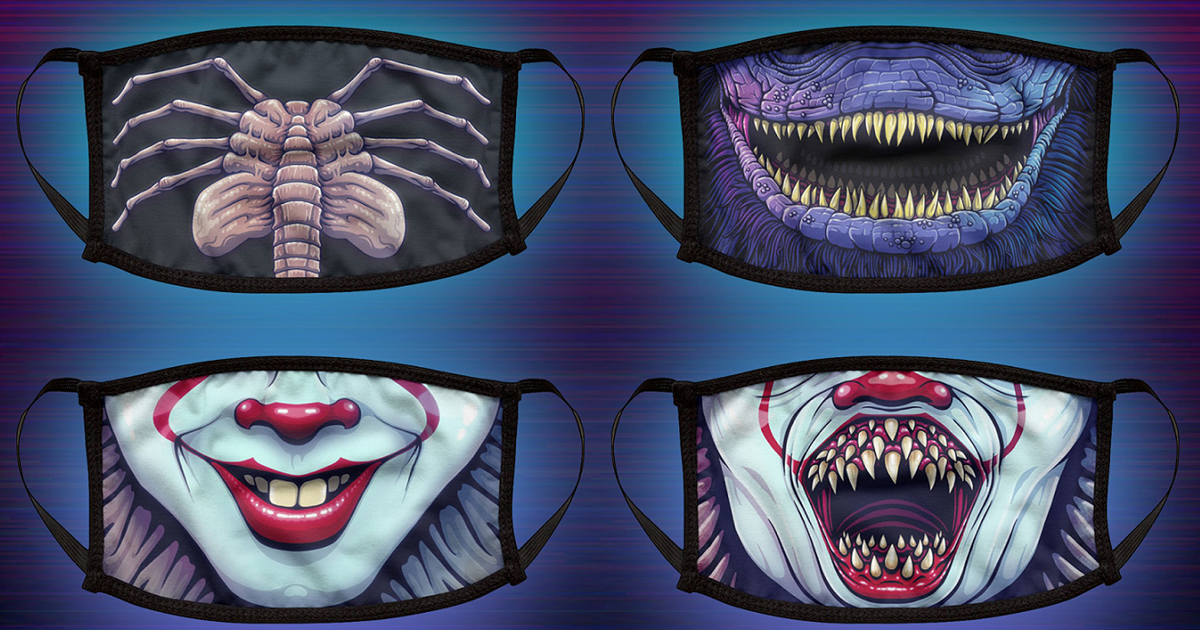 Movie Monsters Masks