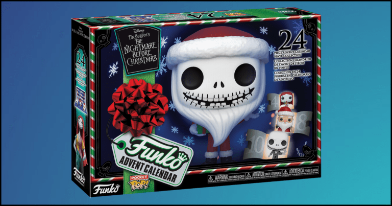 The Nightmare Before Christmas Funko Advent Calendar Is Finally Here!