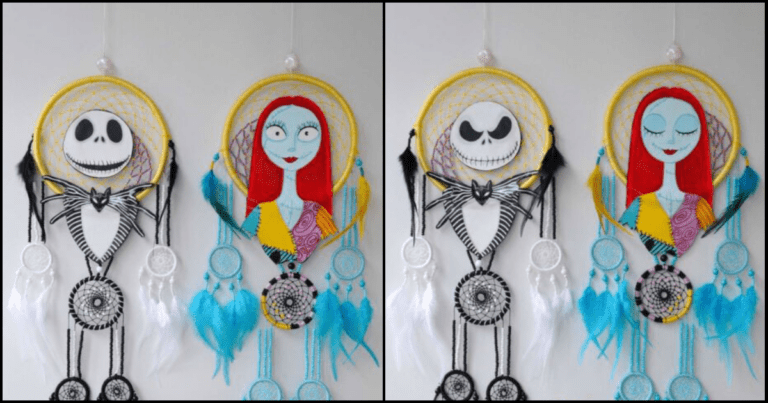 Escape Your Demons With 'Nightmare Before Christmas' Dream Catchers
