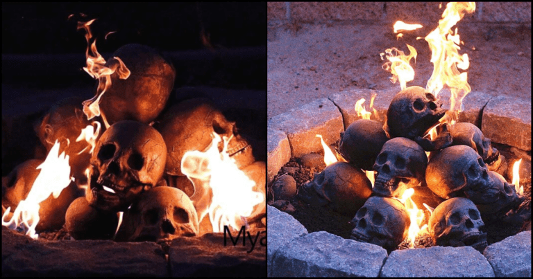 These Fireproof Skulls Turn Your Fire Pit Into A Burial Ground