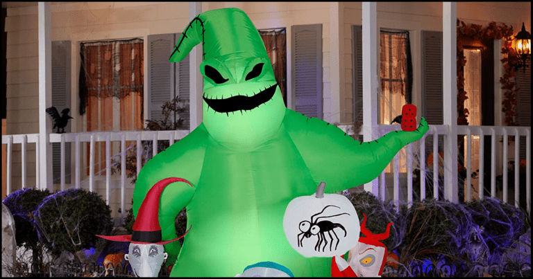 You Can Get Yourself A 7-Foot Oogie Boogie Inflatable This Halloween