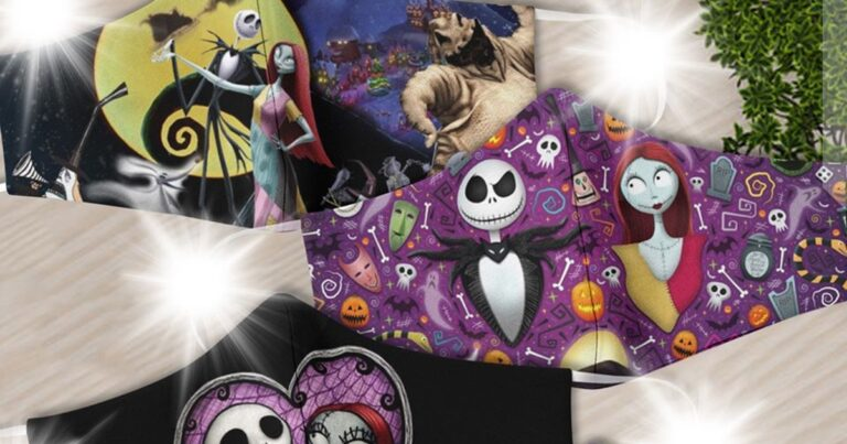 These Nightmare Before Christmas Face Masks Look Amazing