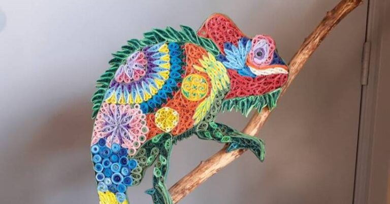 These Intricate Paper Animals And Mosaics Look Amazing