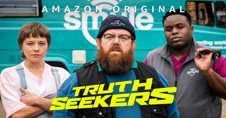 Nick Frost And Simon Pegg's Truth Seekers Gets New Trailer