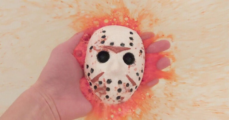 Give Yourself a Blood Bath with Friday the 13th Bath Bombs