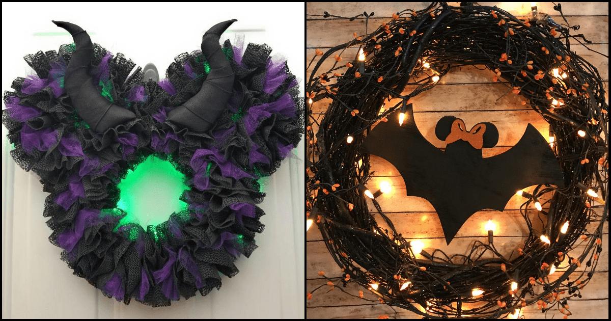 Disney Halloween Wreaths