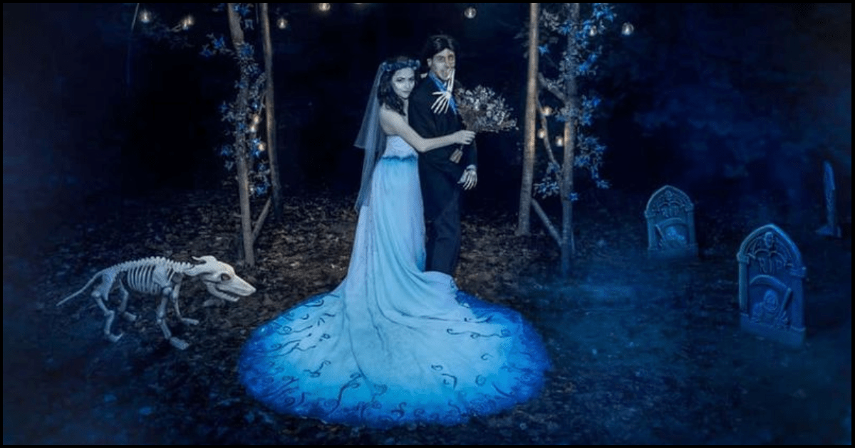 Tim Burton Wedding