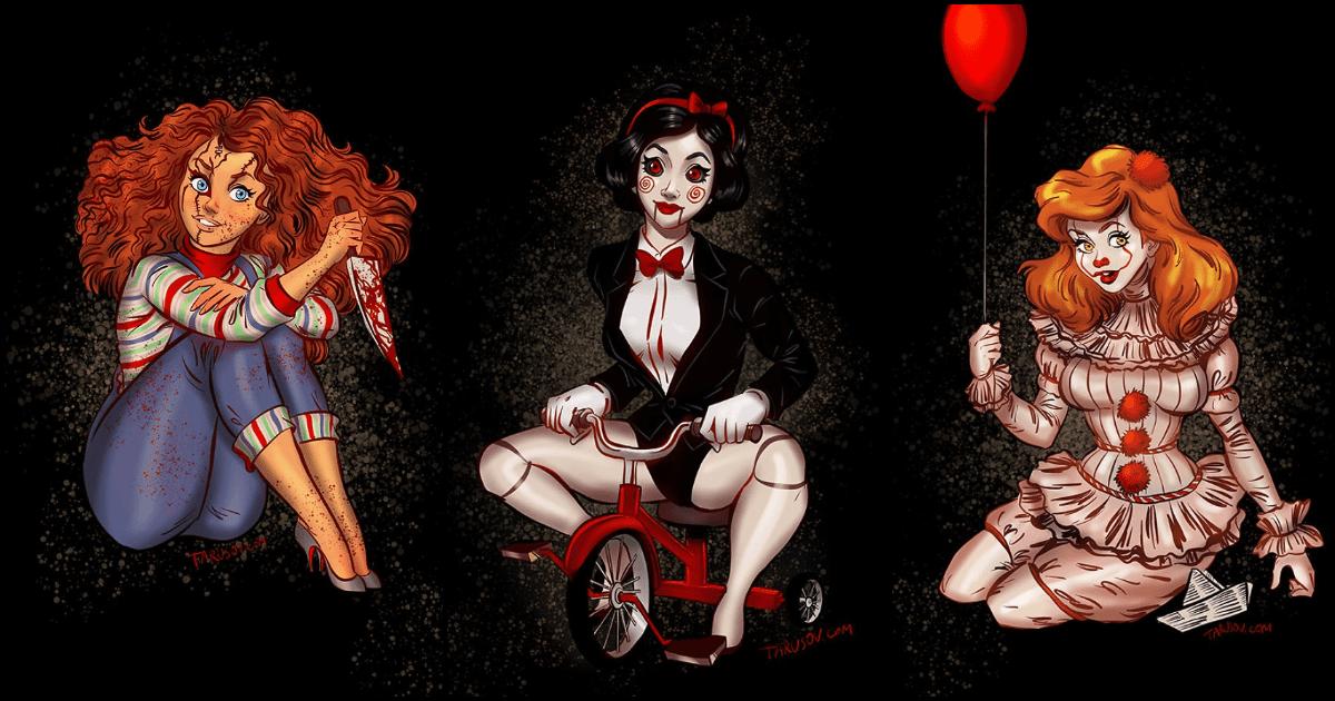Disney Horror Princesses