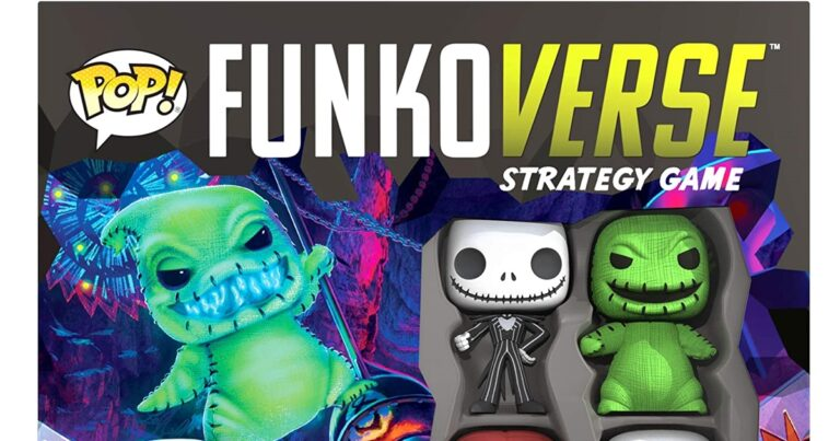 NBX Pop! Funkoverse Strategy Game Available For Preorder