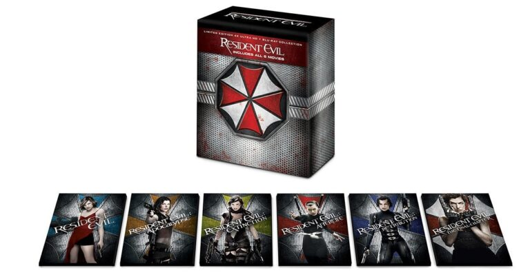 A Limited Edition Resident Evil Blu-ray Box Set Is Being Released