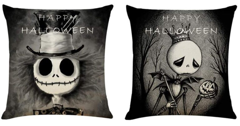 Spend Halloween In Bed With Jack Skellington With These Trendy Pillows