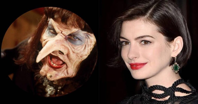 Anne Hathaway Looks Glorious In The Poster For The Witches Remake